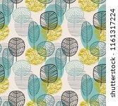 abstract autumn seamless... | Shutterstock .eps vector #1161317224
