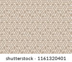 the geometric pattern with... | Shutterstock . vector #1161320401