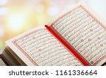 Opened Quran On Muslim Prayer...