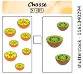 worksheet. game for kids  ... | Shutterstock .eps vector #1161340294