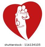 vector. love. | Shutterstock .eps vector #116134105