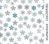 vector floral illustration in... | Shutterstock .eps vector #1161359281