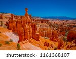 great spires carved away by... | Shutterstock . vector #1161368107