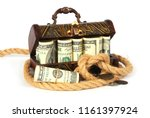 vintage wooden box full of... | Shutterstock . vector #1161397924