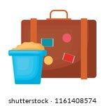 travel suitcase design   Shutterstock .eps vector #1161408574