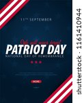 patriot day promotion ... | Shutterstock .eps vector #1161410944