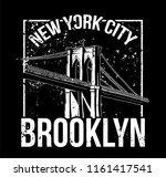 street style black white print... | Shutterstock .eps vector #1161417541