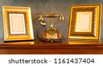 luxury frame picture | Shutterstock . vector #1161437404