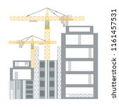 tower crane icon | Shutterstock .eps vector #1161457531