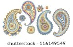 traditional asian elements... | Shutterstock .eps vector #116149549