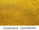 golden giltter texture... | Shutterstock . vector #1161496594