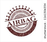red airbag distressed grunge... | Shutterstock .eps vector #1161506554