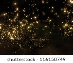 galaxy in outer space | Shutterstock . vector #116150749