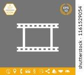 camera roll  photographic film  ... | Shutterstock .eps vector #1161529054