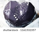 mousse cake on a white... | Shutterstock . vector #1161532357