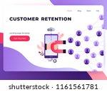 social media ultra violet... | Shutterstock .eps vector #1161561781