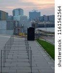 view at elbphilharmonie in... | Shutterstock . vector #1161562564