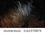 dark black vector pattern with... | Shutterstock .eps vector #1161570874