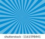 radial lines in retro pop art...   Shutterstock .eps vector #1161598441