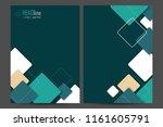 vector modern templates | Shutterstock .eps vector #1161605791