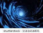 abstract ice cave background.... | Shutterstock . vector #1161616831