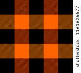lumberjack plaid. scottish... | Shutterstock .eps vector #1161626677