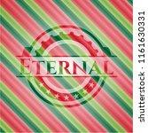eternal christmas emblem. | Shutterstock .eps vector #1161630331