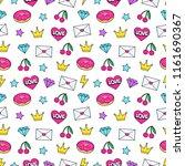 cute modern girly seamless... | Shutterstock .eps vector #1161690367