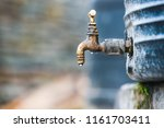Dripping Tap Attached To A...