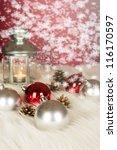 christmas decoration | Shutterstock . vector #116170597
