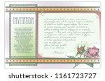template flyer  invitation or...   Shutterstock .eps vector #1161723727