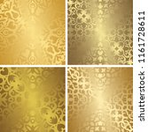 set of four template of... | Shutterstock . vector #1161728611