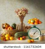 Autumn Still Life With Seasona...