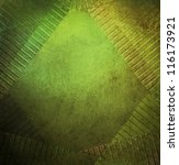 Abstract Green Background Fram...
