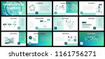 business presentation templates.... | Shutterstock .eps vector #1161756271
