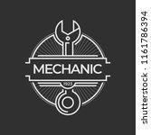auto mechanic service. mechanic ... | Shutterstock .eps vector #1161786394