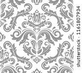 orient vector classic pattern.... | Shutterstock .eps vector #1161807934