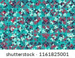 abstract gemetric pattern with... | Shutterstock .eps vector #1161825001