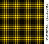 black and yellow lumberjack...   Shutterstock .eps vector #1161828451