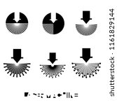iliumustration consisting of... | Shutterstock .eps vector #1161829144
