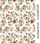 vector seamless wallpaper with...   Shutterstock .eps vector #116185705