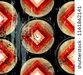 seamless geometric background...   Shutterstock .eps vector #1161862141