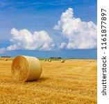 Yellow Golden Straw Bales Hay - Fine Art prints