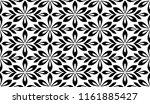 flower geometric pattern.... | Shutterstock .eps vector #1161885427