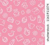 children's endless background... | Shutterstock .eps vector #1161911074