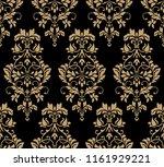 beautiful damask pattern. royal ...   Shutterstock . vector #1161929221