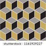 abstract geometric  hexagonal...   Shutterstock . vector #1161929227