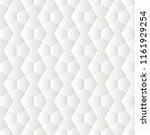white seamless geometric...   Shutterstock . vector #1161929254