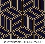 abstract geometric   golden...   Shutterstock . vector #1161929314