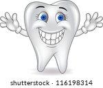 happy tooth | Shutterstock . vector #116198314